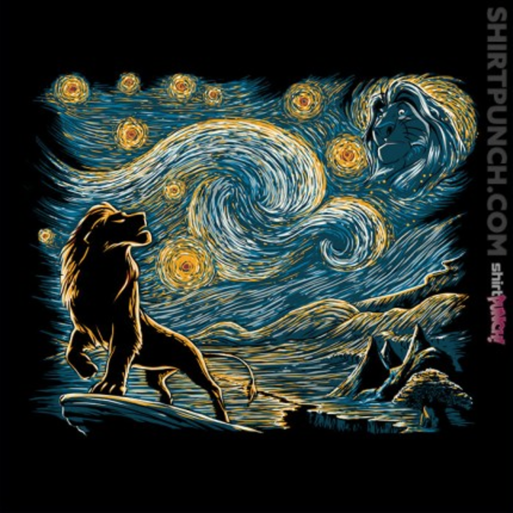 ShirtPunch: Starry King