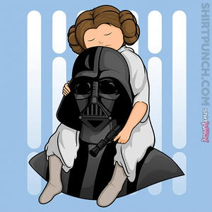 ShirtPunch: Number One Dad Leia