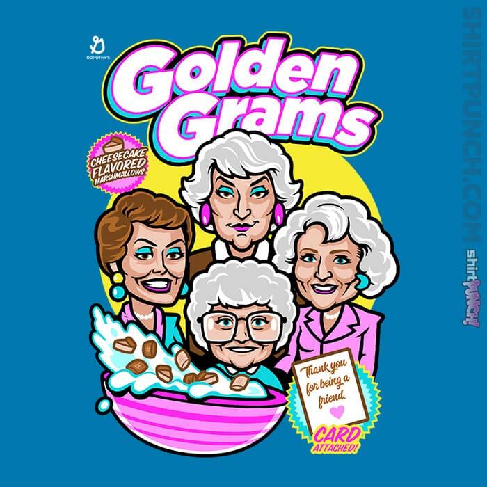 ShirtPunch: Golden Grams