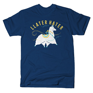 SnorgTees: Llater Hater