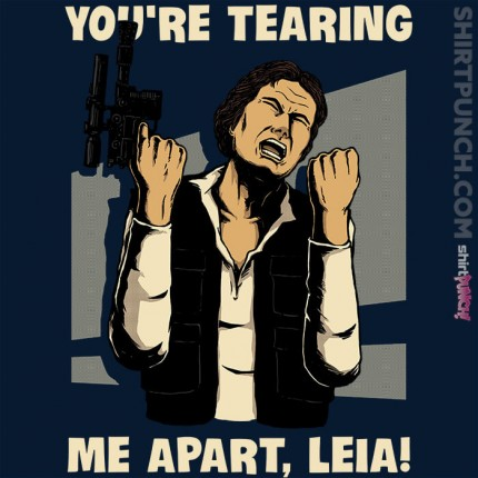 ShirtPunch: Why Leia Why