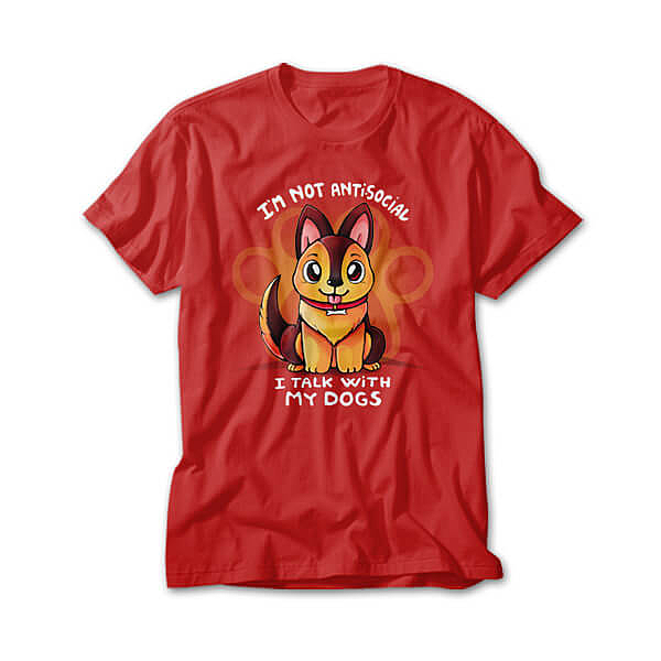 OtherTees: I talk with my Dogs