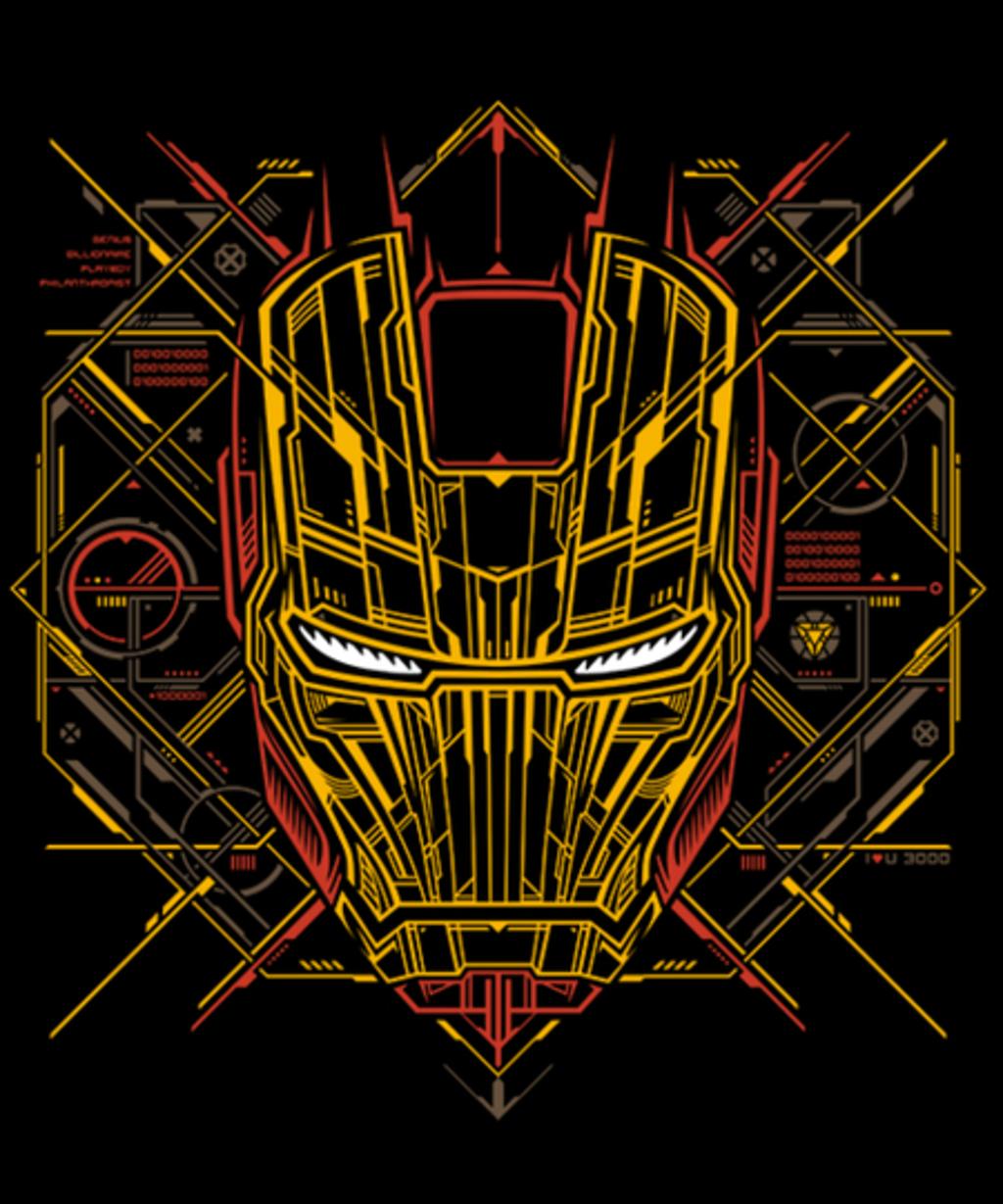 Qwertee: Iron Tech