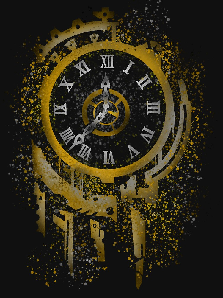 RedBubble: Clockwork Spray Paint Design