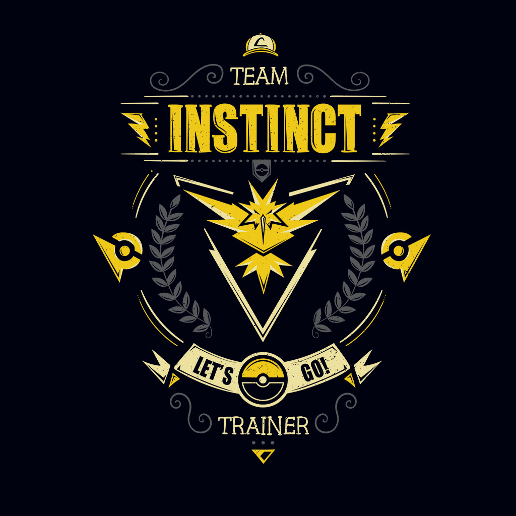 TeeTee: Let's go! Team instinct