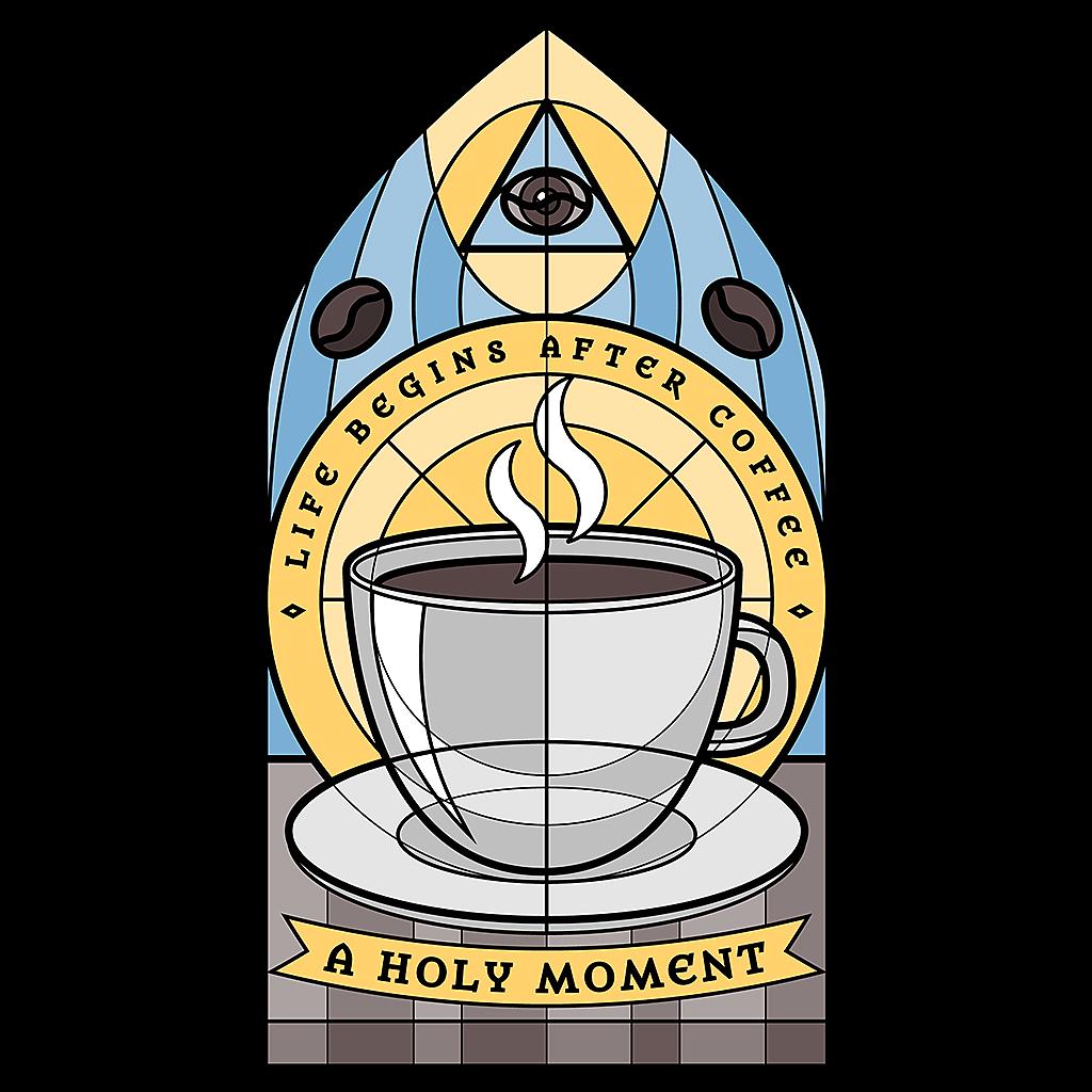 TeeTee: Holy Coffee