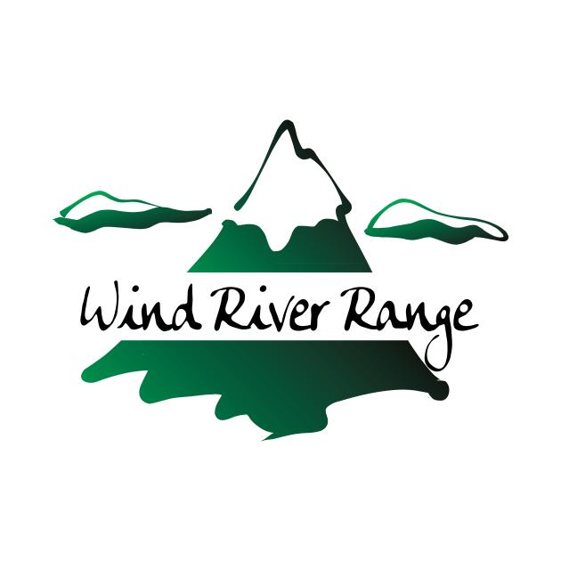 TeePublic: Wind River Range Wyoming