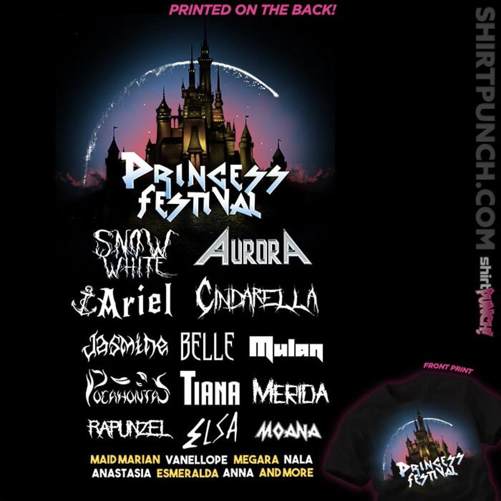 ShirtPunch: Princess Festival
