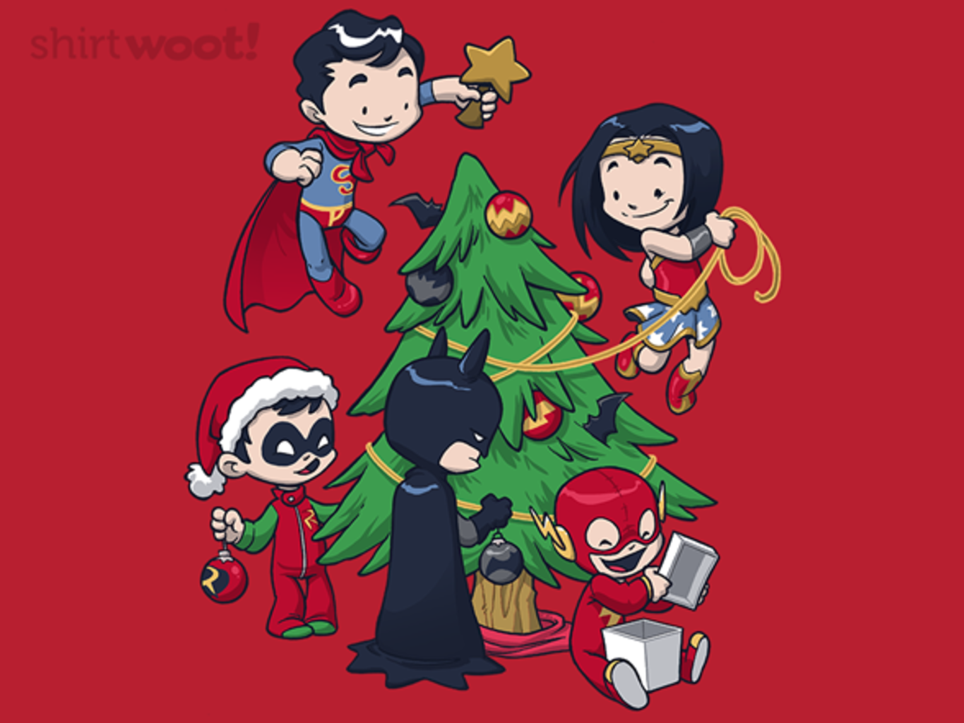 Woot!: Justice Tree - $8.00 + $5 standard shipping