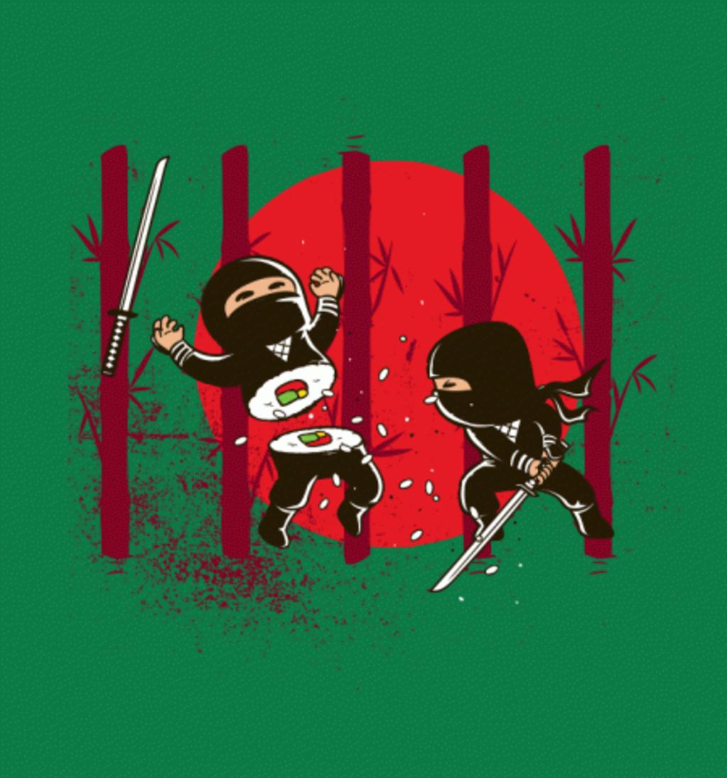 BustedTees: Sushi Ninja