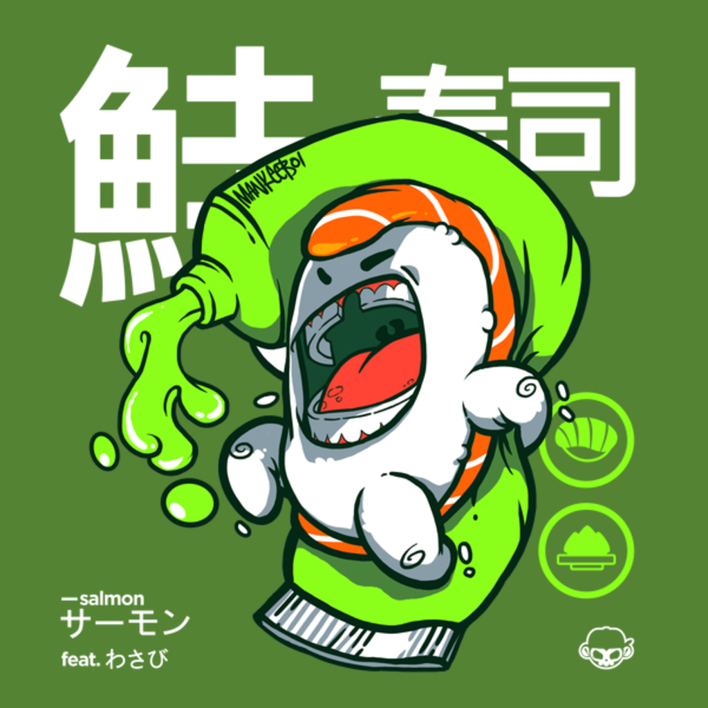 NeatoShop: Salmon feat. Wasabi