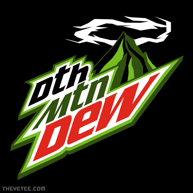 The Yetee: Death Mountain Dew
