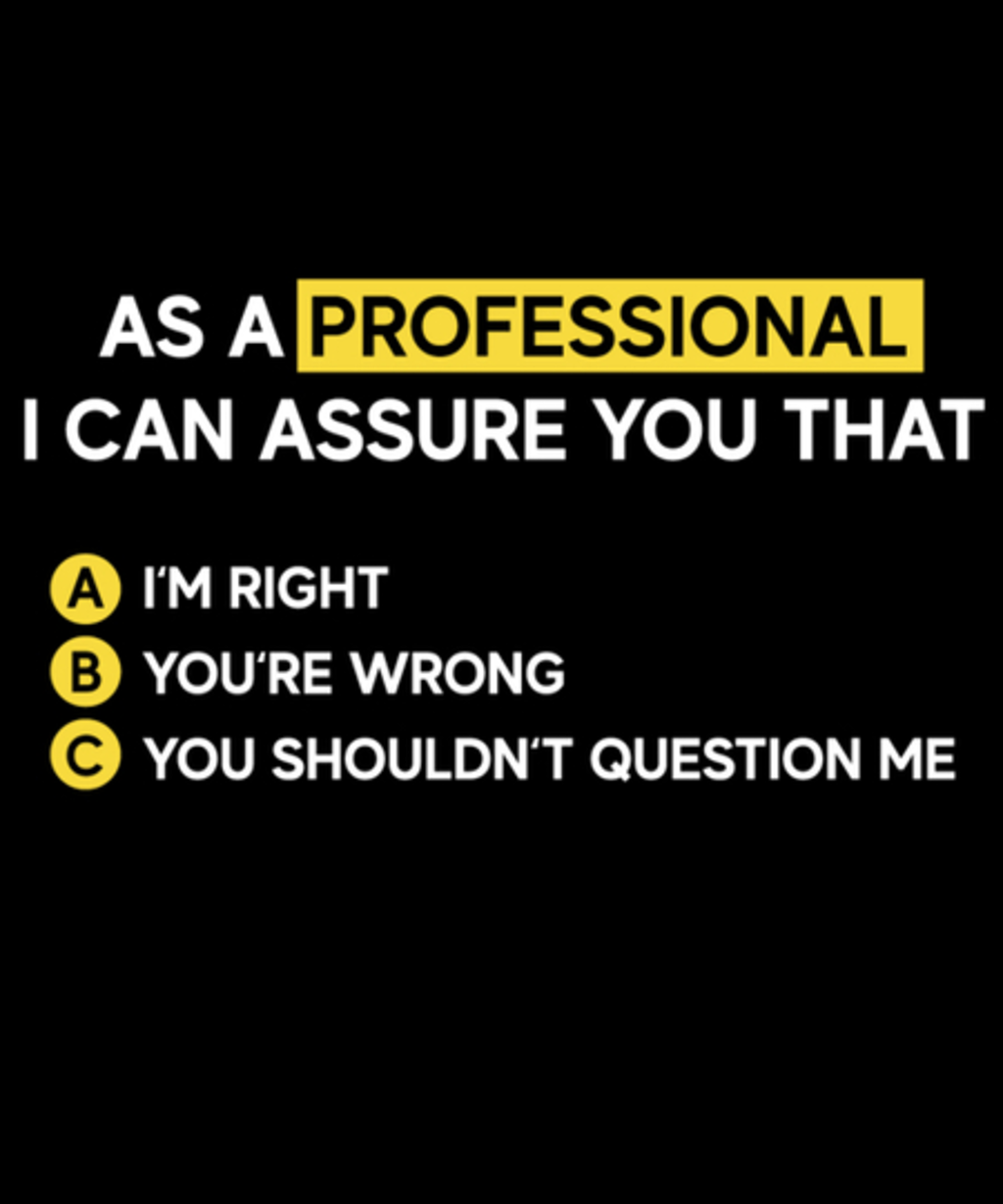 Qwertee: As a professional