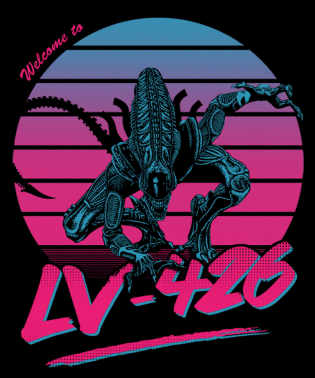 Qwertee: Welcome to LV-426