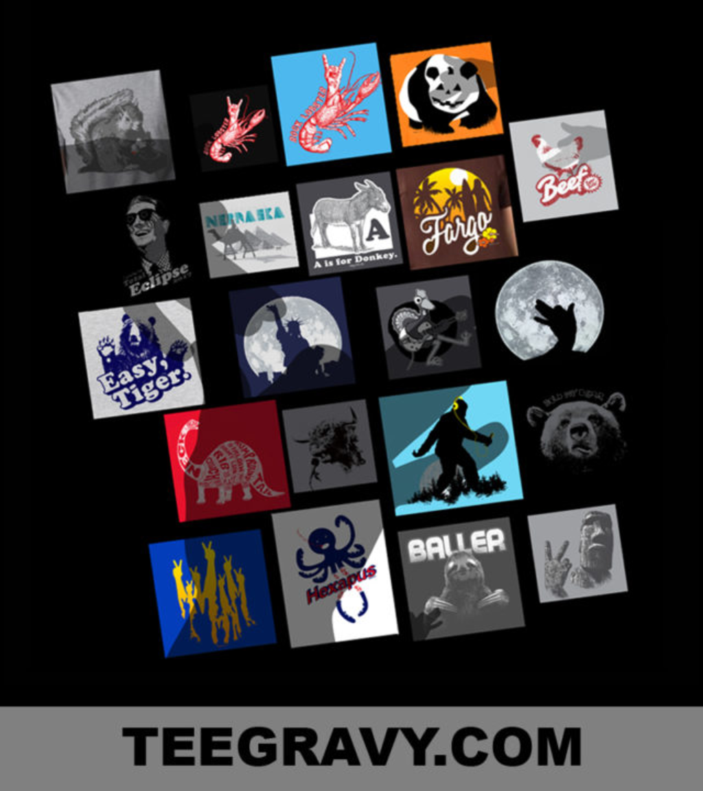 Tee Gravy: Grab Bag 7 Dollar Madness