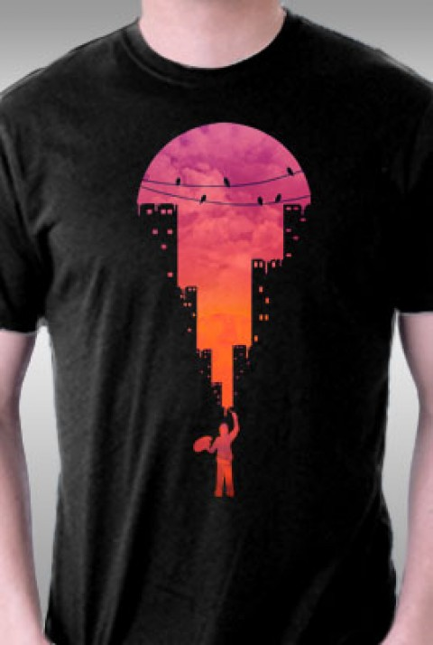 TeeFury: Sunset Painter