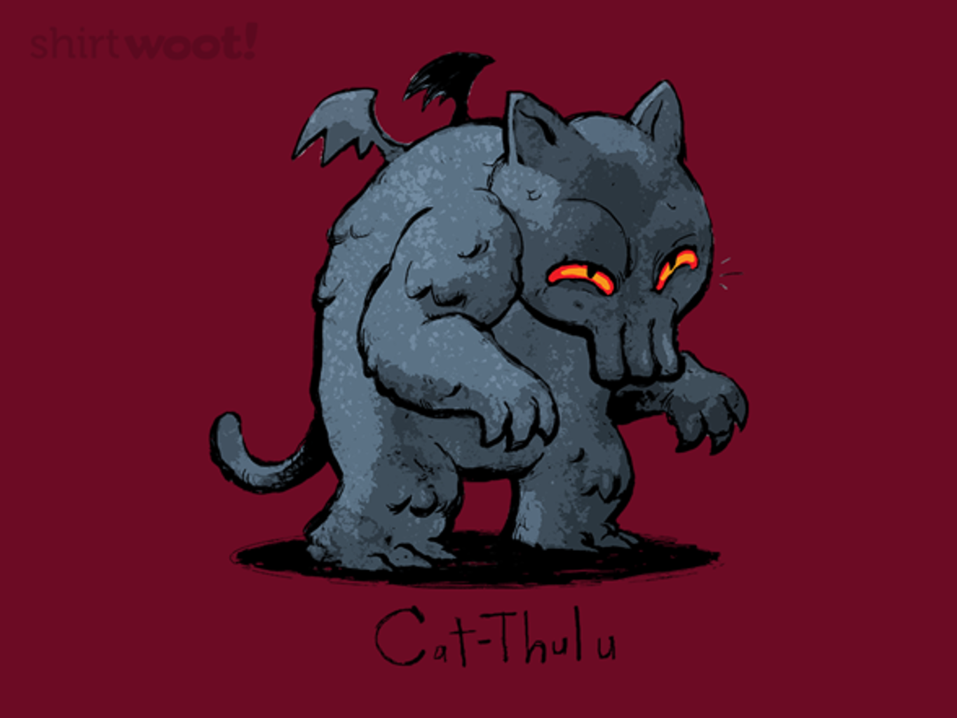 Woot!: catTHULU - $15.00 + Free shipping