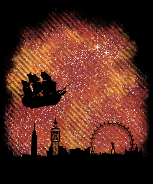 Qwertee: return to neverland