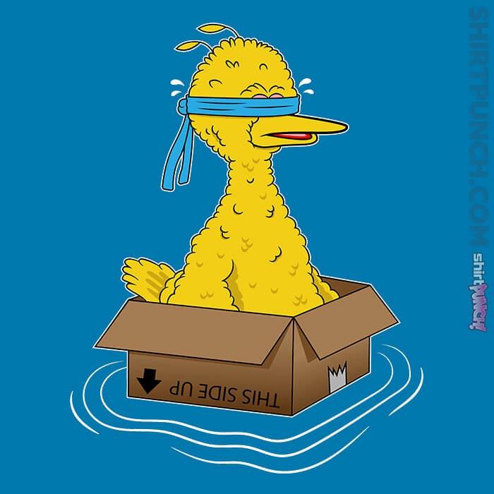 ShirtPunch: Big Bird Box