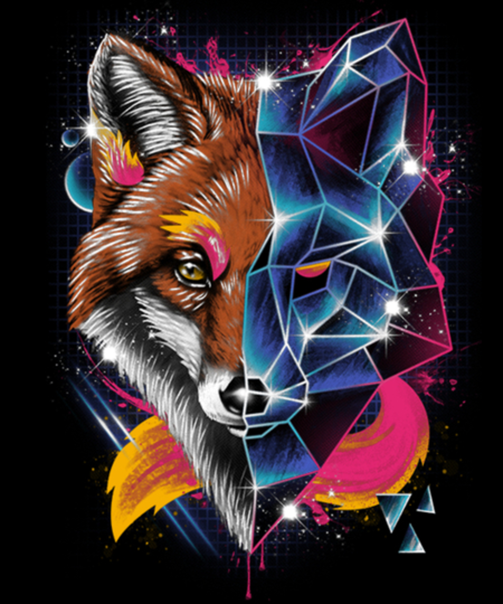 Qwertee: Rad Fox