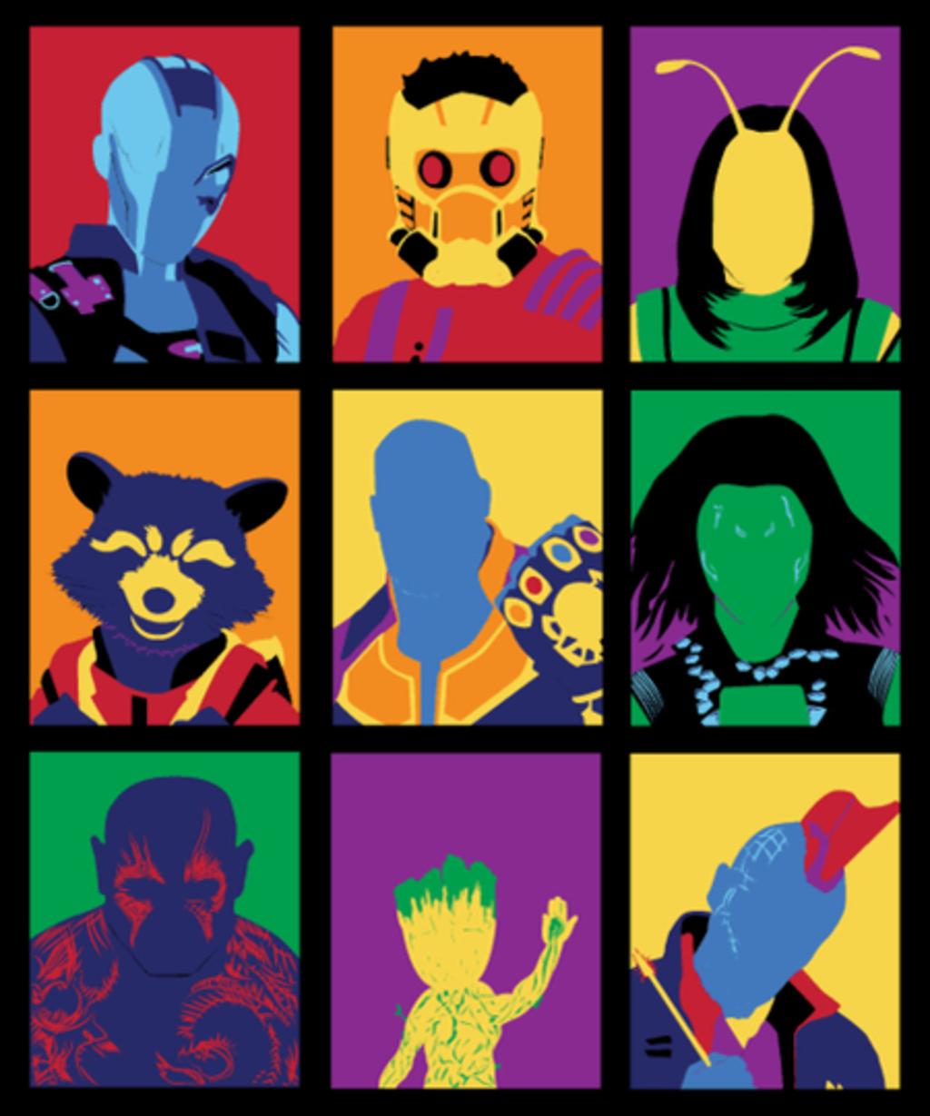 Qwertee: Guardians Pop 2