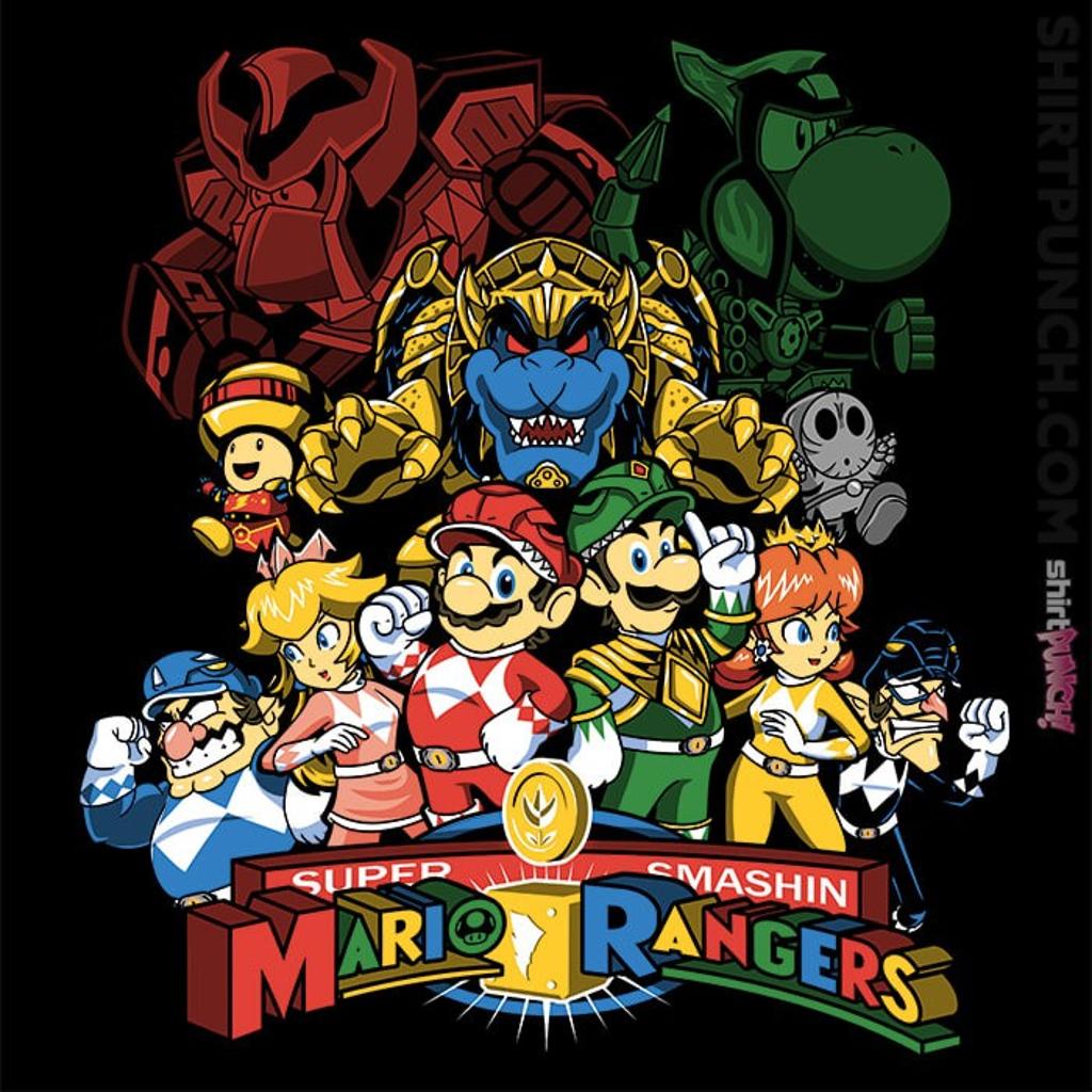 ShirtPunch: Mushroom Rangers