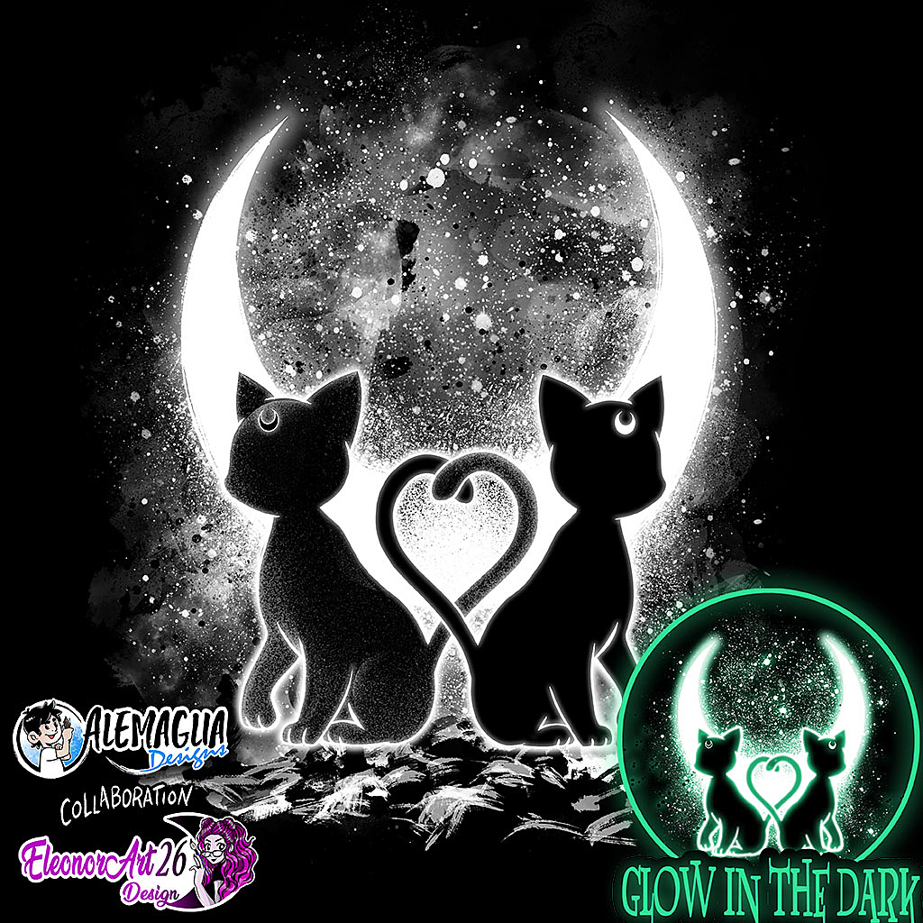TeeTee: Moon Cats – Glows in the Dark