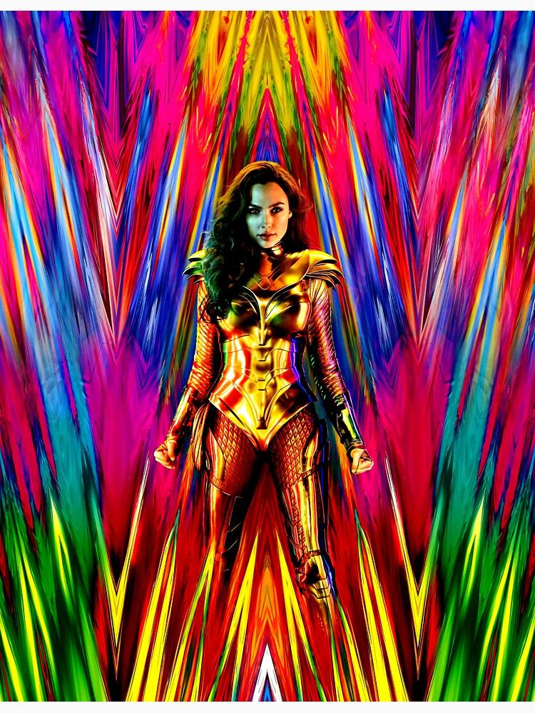 RedBubble: Rainbow Superhero Wonder