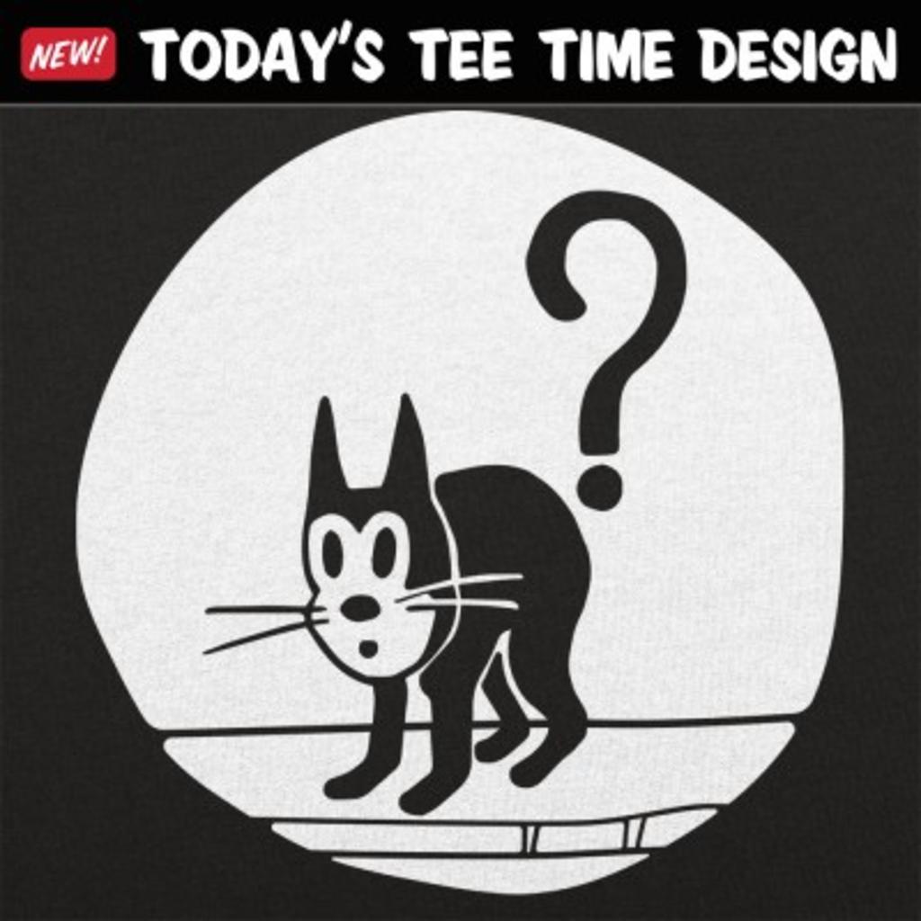 6 Dollar Shirts: Question Cat