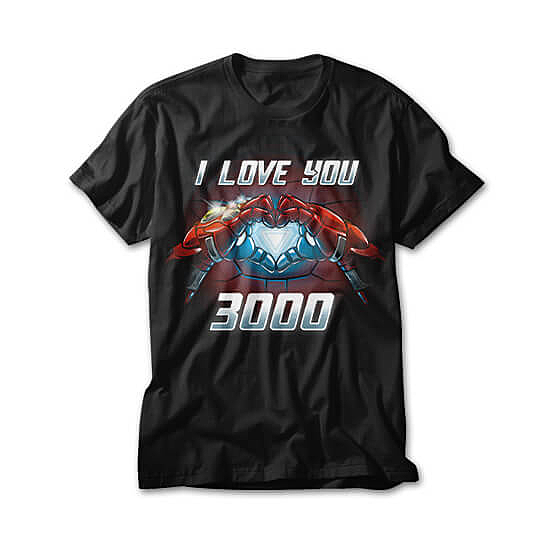 OtherTees: I Love You 3000