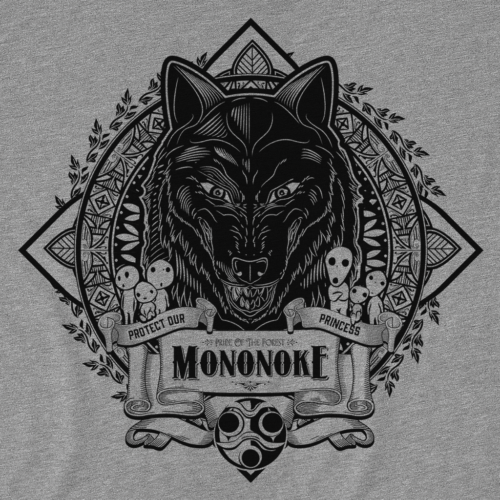 Pop-Up Tee: Vintage Mononoke
