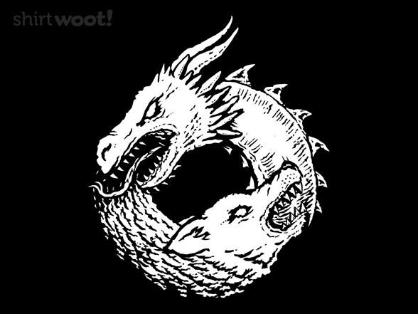 """Woot!: """"Of Ice & Fire"""" Jersey Zip Hoodie"""