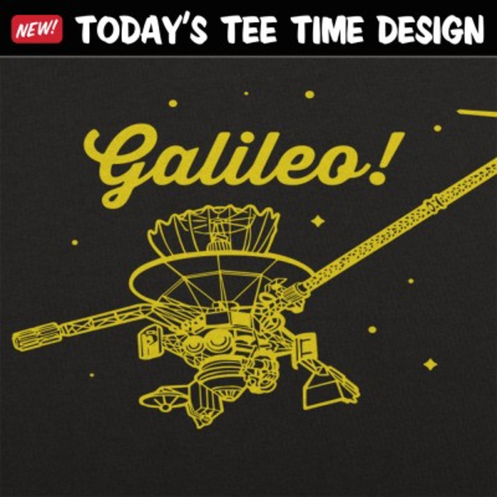 6 Dollar Shirts: Galileo