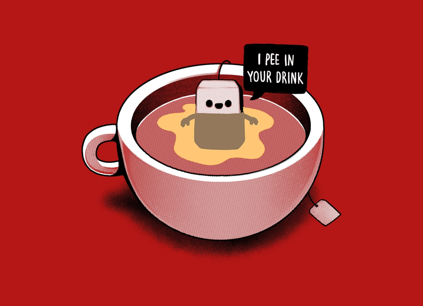 Threadless: Hot Tea