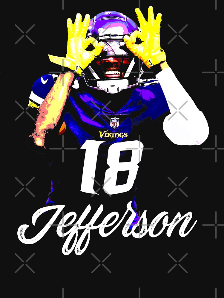 RedBubble: Justin Jefferson Vikings Football