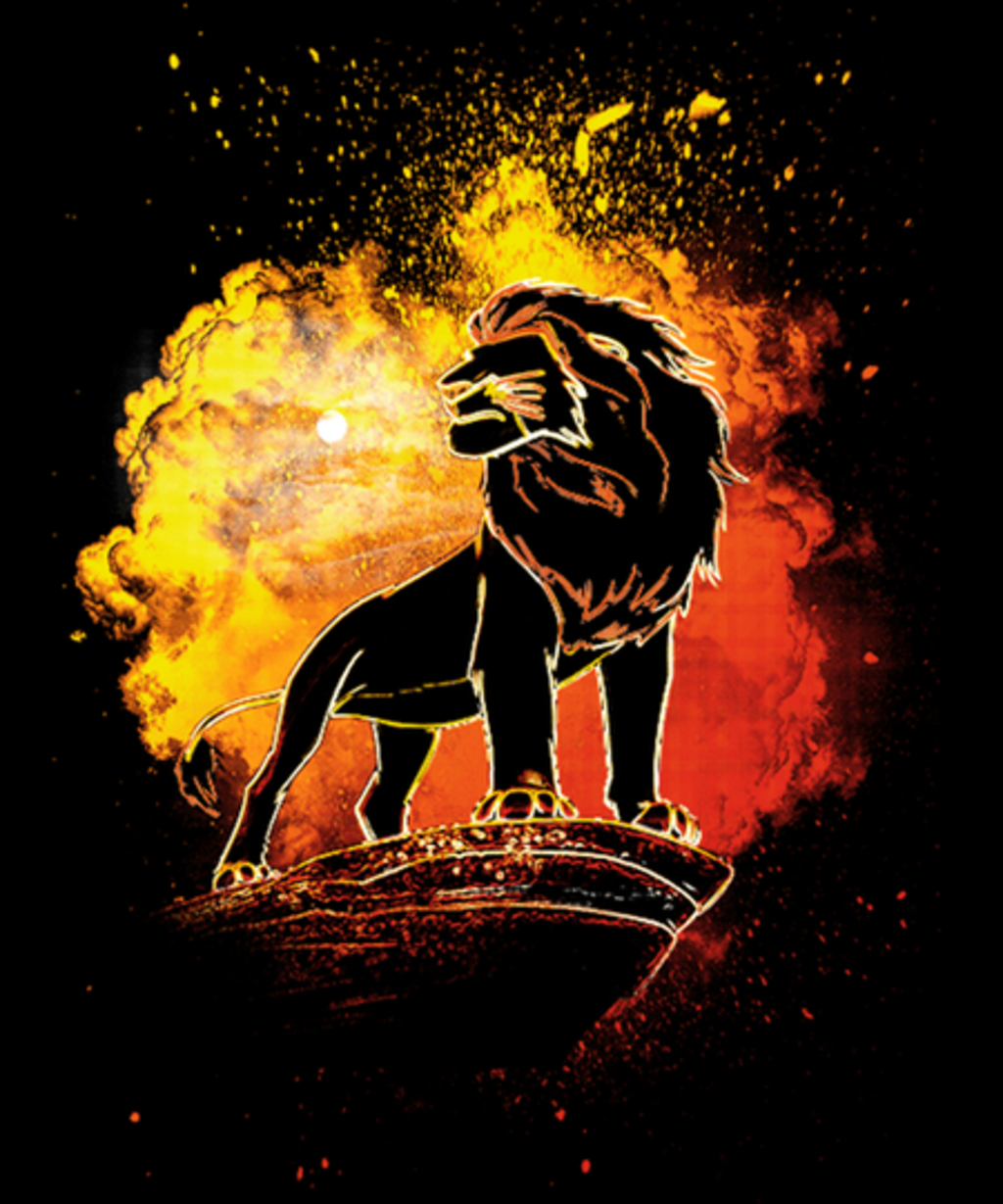 Qwertee: Soul of the King