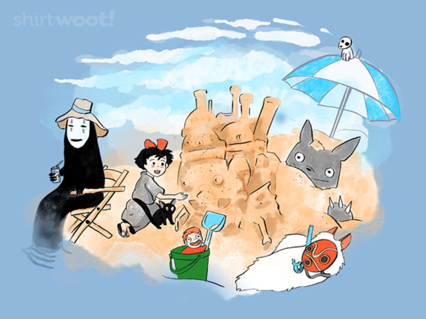 Woot!: Castle in the Sand