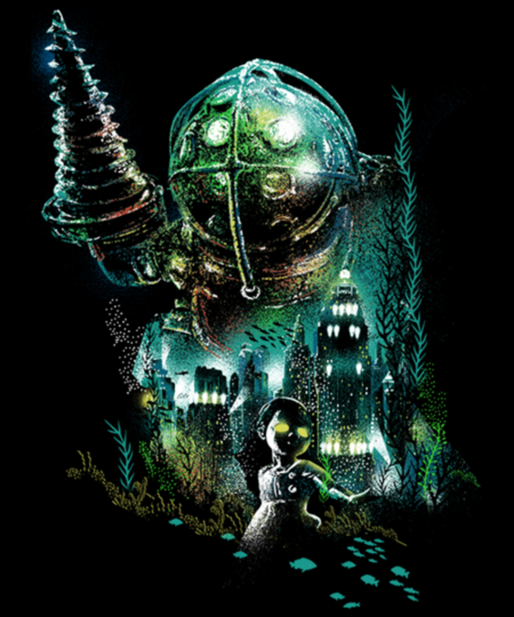 Qwertee: Rapture Guardian