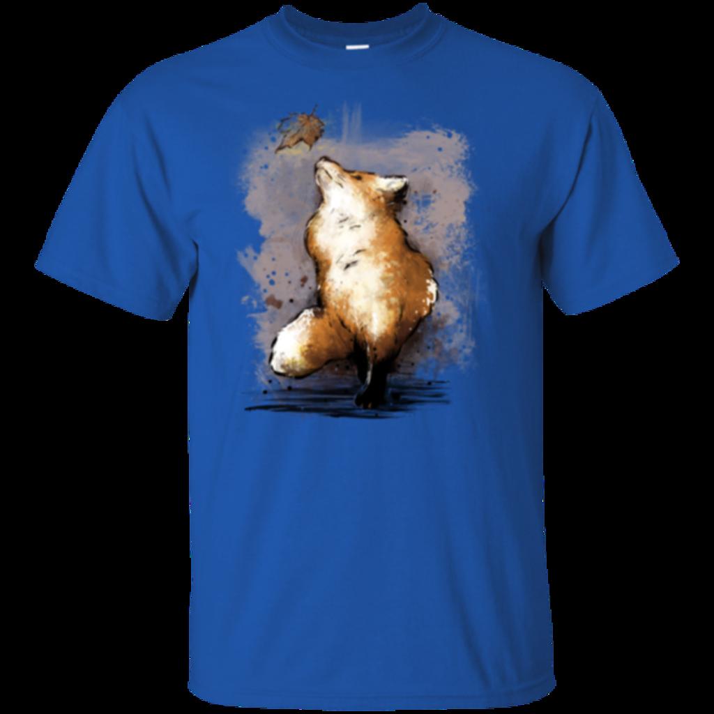 Pop-Up Tee: Autumn Fox