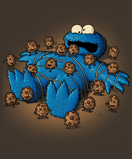 Qwertee: Gulliver Monster