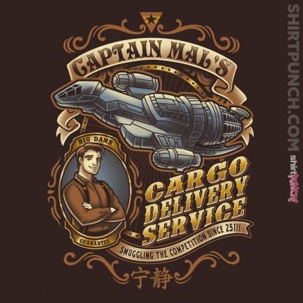 ShirtPunch: Captain Mal's Cargo Delivery