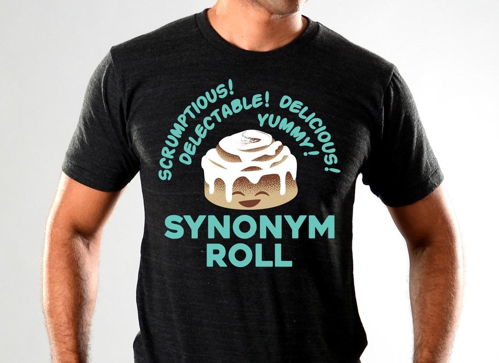 SnorgTees: Synonym Roll Limited Edition Tri-Blend