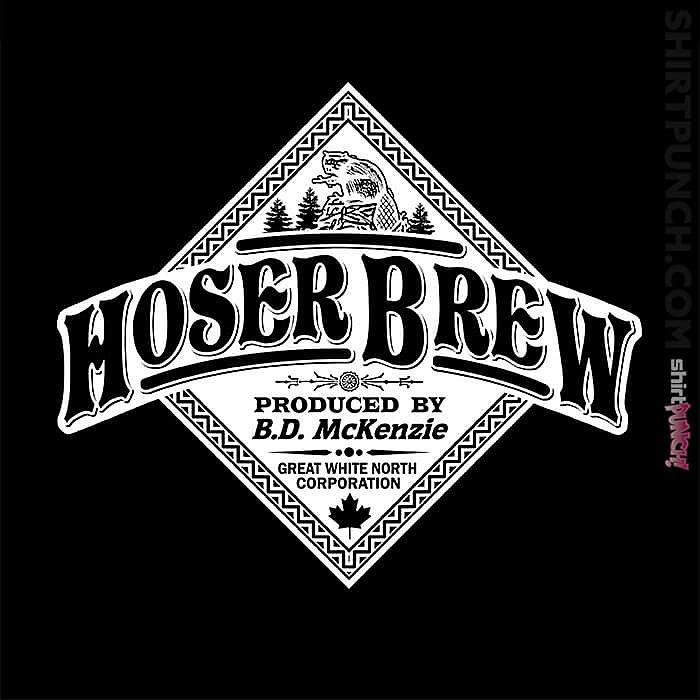 ShirtPunch: Hoser Brew