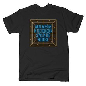 SnorgTees: What Happens In The Holodeck