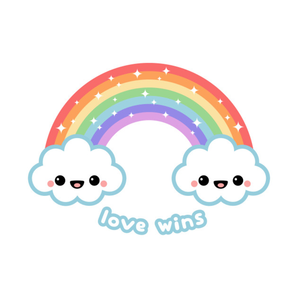 TeePublic: Love Wins