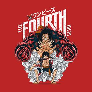 TeeTee: Luffy Gear Fourth