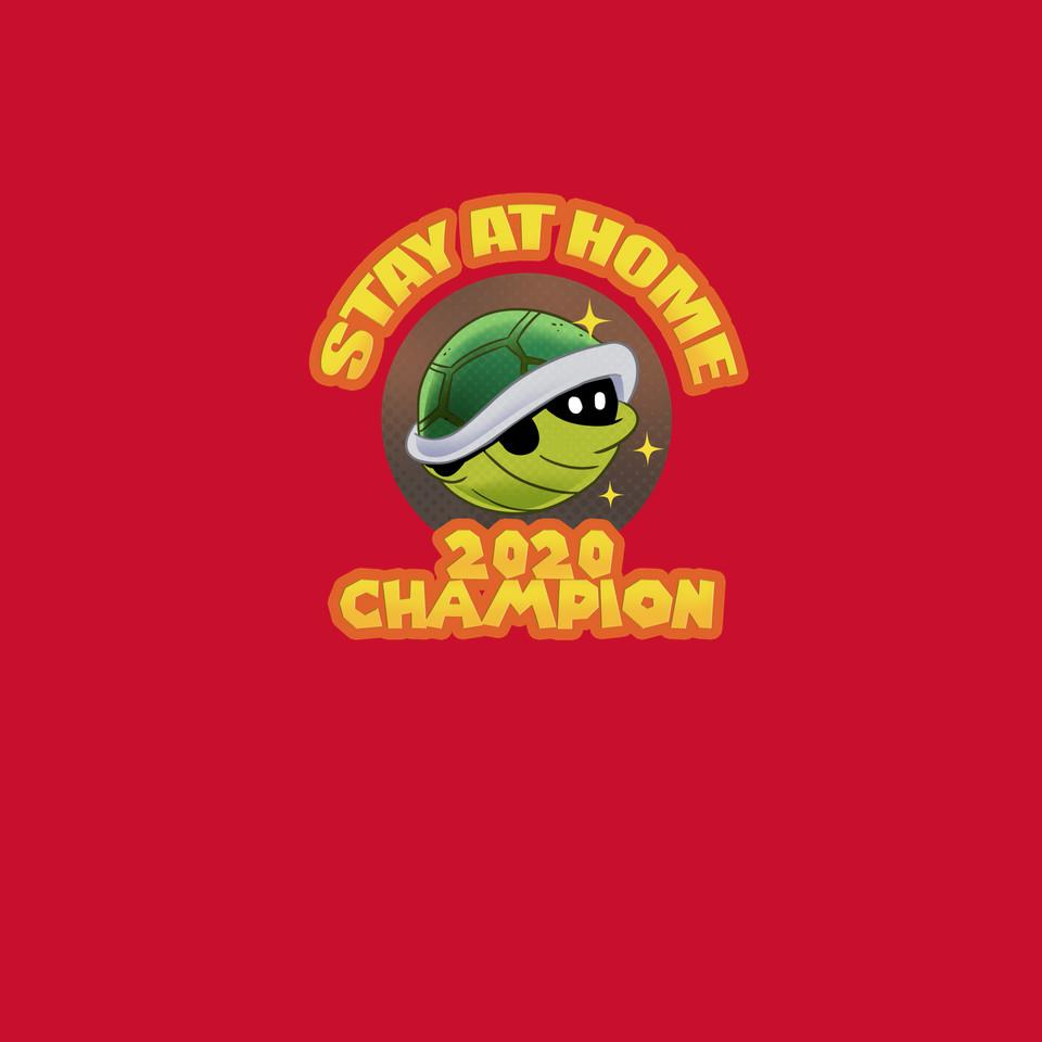 TeeFury: Super Stay At Home Champion