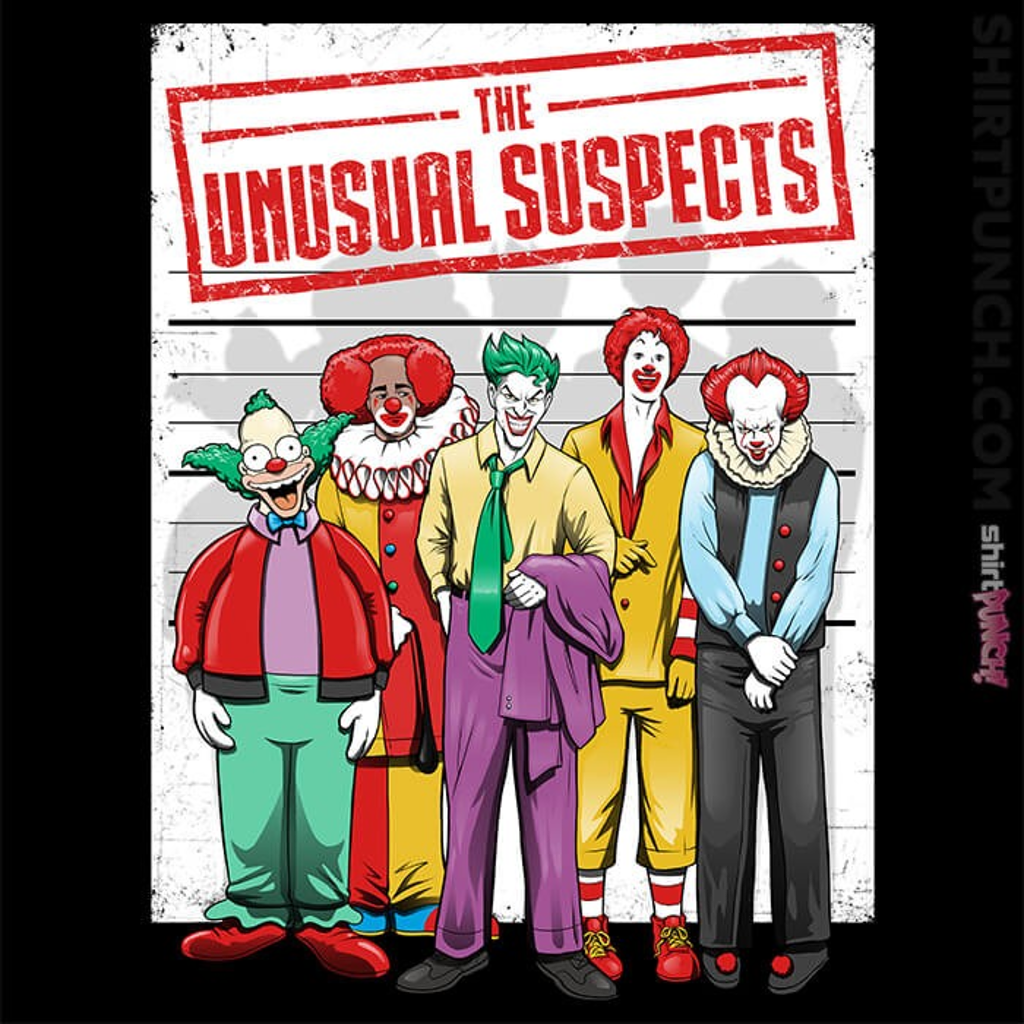 ShirtPunch: The Unusual Suspects