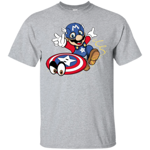 Pop-Up Tee: SUPER CAPTAIN ODYSSEY
