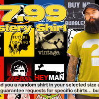 Top Rope Tuesday: $7.99 Mystery Shirt